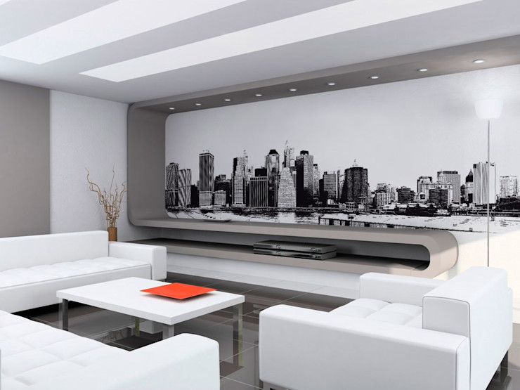 Progetto Grafico e Stampa su tela Oversize Ideosfera Pareti & PavimentiCornici & Immagini Cotone Bianco