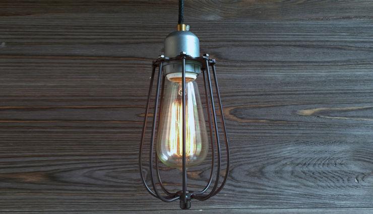 KOPENHAGEN LOFT GREY-BROWN CEILING Altavola Design Sp. z o.o. Living roomLighting Brown