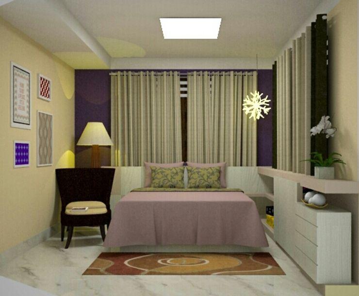 Duecad - Arquitetura e Interiores Moderne Schlafzimmer