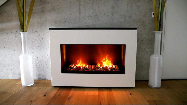 Wall Fire muenkel design - Elektrokamine aus Großentaft Living roomFireplaces & accessories
