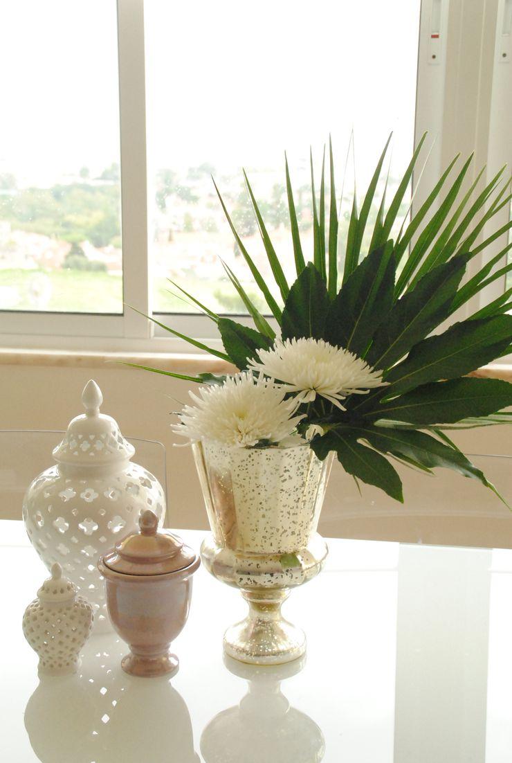 White Glam Soggiorno moderno