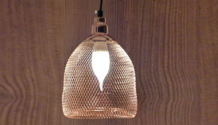 COPPER CHIC Altavola Design Sp. z o.o. Living roomLighting