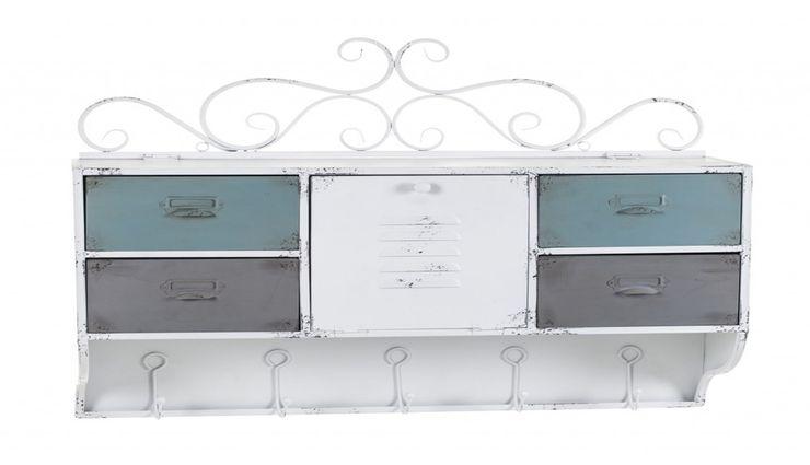 HANGING CHEST ALURO LAMALI Altavola Design Sp. z o.o. Living roomCupboards & sideboards Metal