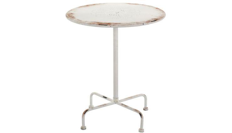 ROUND TABLE ALURO LAMALI Altavola Design Sp. z o.o. Balconies, verandas & terraces Furniture Metal