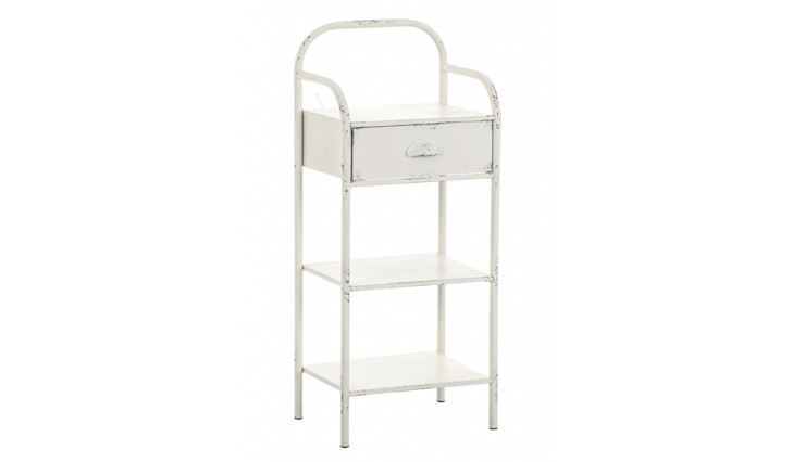 CABINET BOOKSHELF ALURO LAMALI Altavola Design Sp. z o.o. BedroomBedside tables Metal