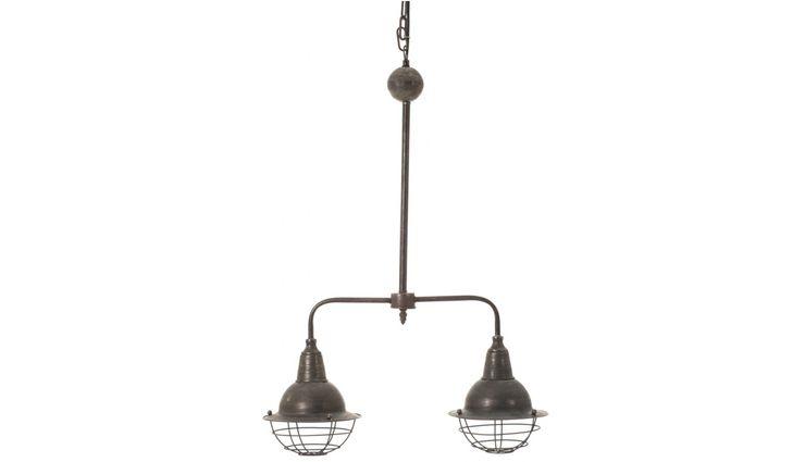 INDUSTRIAL PENDANT DOUBLE ALURO MAZINE Altavola Design Sp. z o.o. Living roomLighting Metal