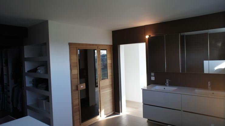 Salle de bain Bureau d'Architectes Desmedt Purnelle Salle de bain moderne