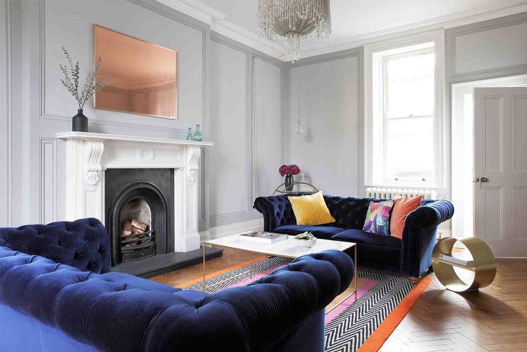 Donnybrook Residence Dust オリジナルデザインの リビング
