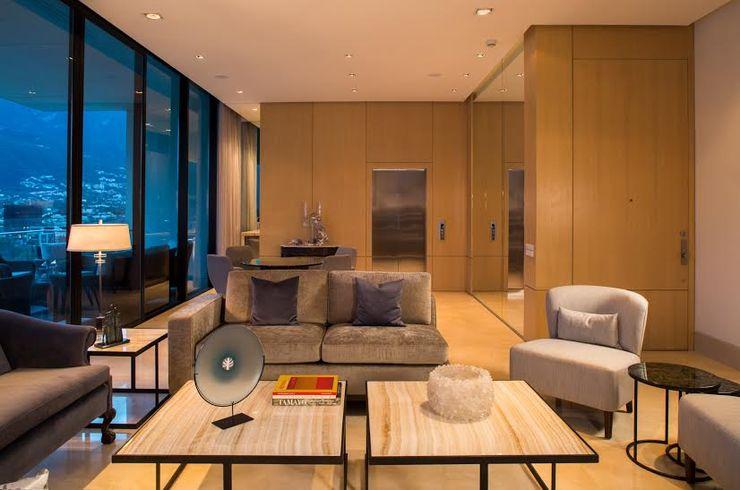 Rousseau Arquitectos Modern living room