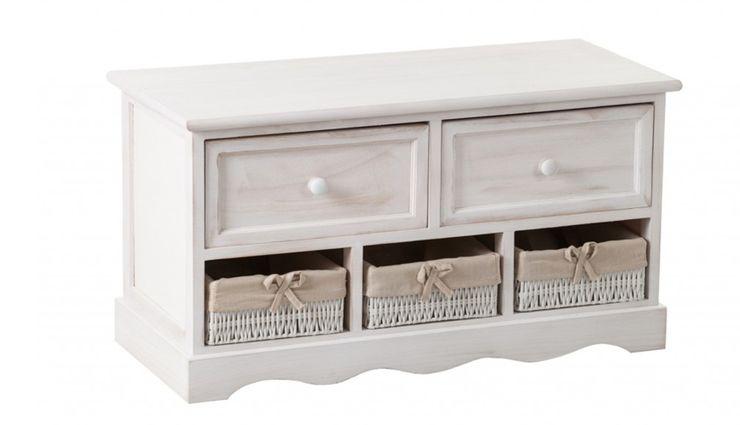 BENCH ALURO PALIDA Altavola Design Sp. z o.o. Dressing roomWardrobes & drawers Wood