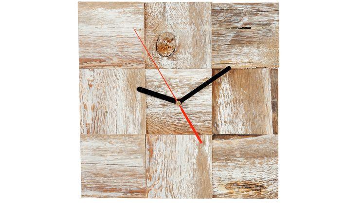 DRIFTWOOD CLOCK Altavola Design Sp. z o.o. Living roomAccessories & decoration Wood White