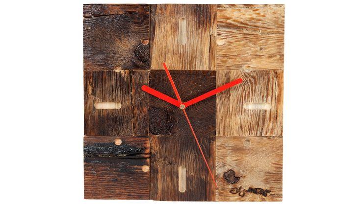 DRIFTWOOD CLOCK Altavola Design Sp. z o.o. Living roomAccessories & decoration Wood
