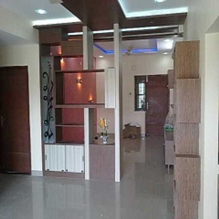 GAJENDRA YADAV'S RESIDENCE Spaces Architects@ka Modern dressing room