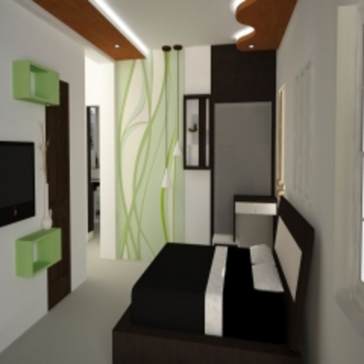 GAJENDRA YADAV'S RESIDENCE Spaces Architects@ka Modern spa