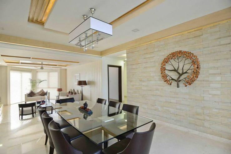 Spaces Architects@ka غرفة السفرة