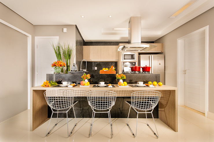 Renata Matos Arquitetura & Business Modern Kitchen