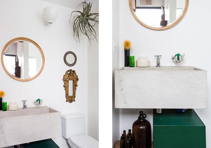 Apto. João RSRG Arquitetos Banheiros minimalistas