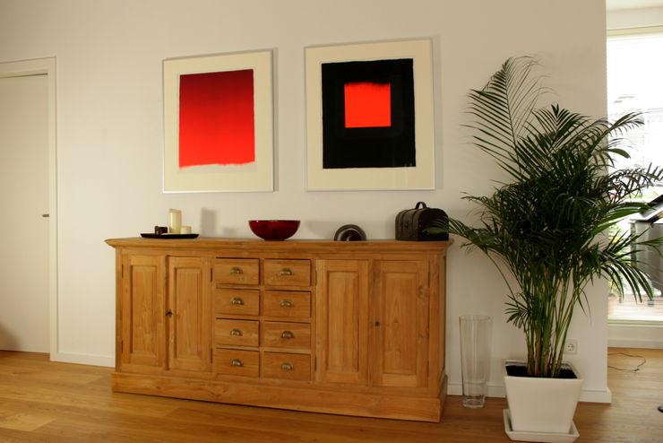 ORTerfinder Modern living room Wood Orange