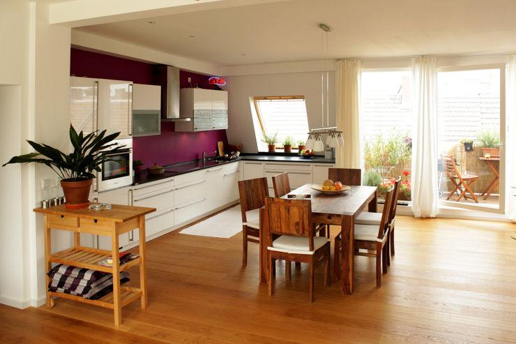 ORTerfinder Modern kitchen Wood Purple/Violet