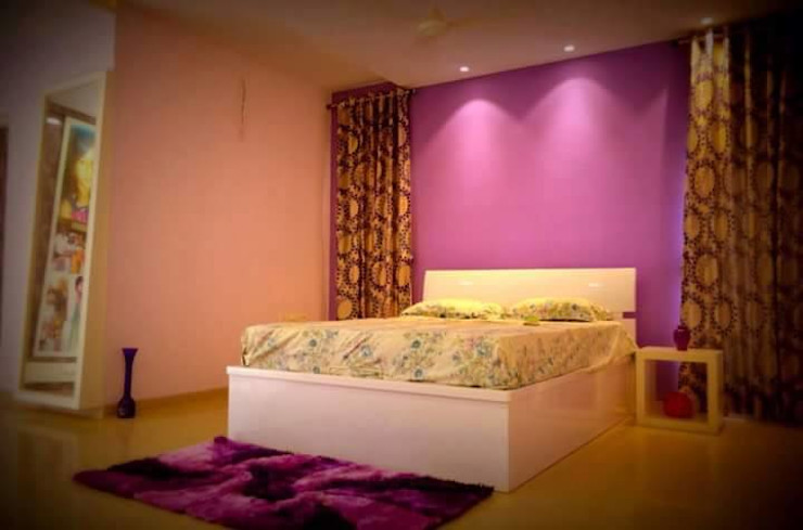 Livin interiors Dormitorios de estilo moderno