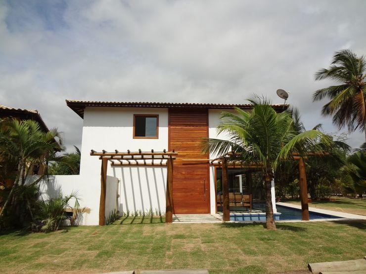 Residência de Praia Tupinanquim Arquitetura Brasilis Casas rústicas