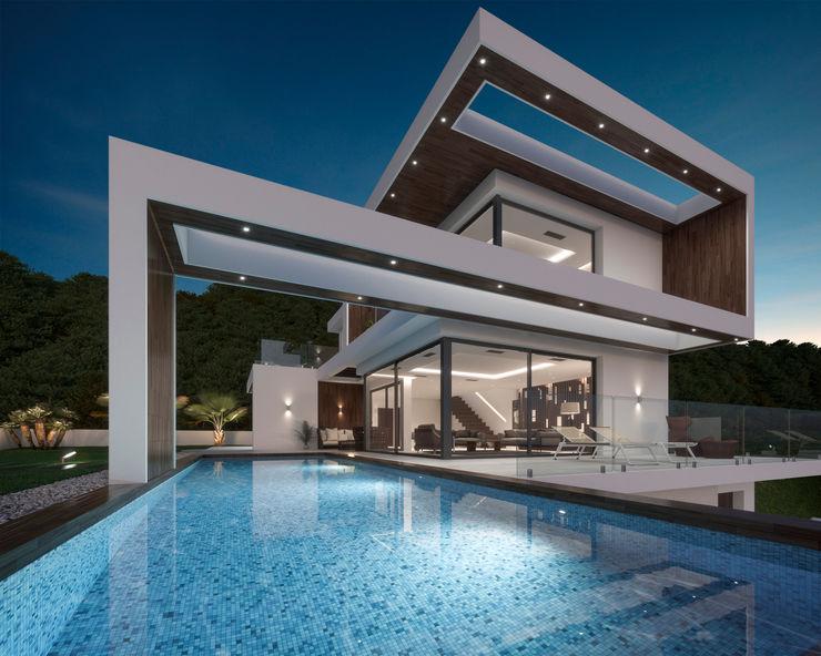 Villa Nerea Miralbó Excellence Moderne Pools