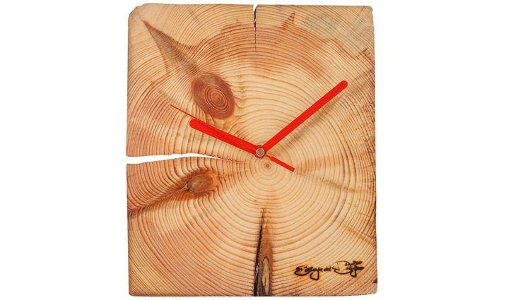 RECLAIMED WOOD WALL CLOCK Altavola Design Sp. z o.o. Living roomAccessories & decoration Wood