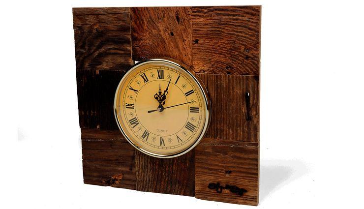 RETRO WOOD CLOCK Altavola Design Sp. z o.o. Living roomAccessories & decoration Wood
