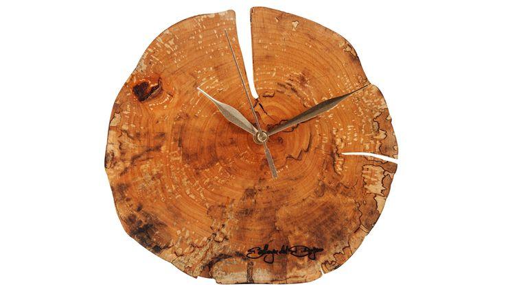 WOOD DISC CLOCK Altavola Design Sp. z o.o. Living roomAccessories & decoration Wood