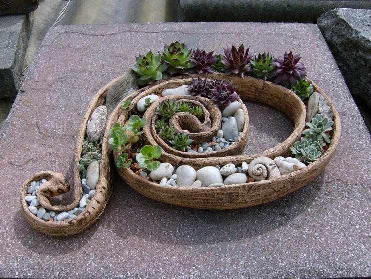 Dekoration rote_libelle Moderner Garten