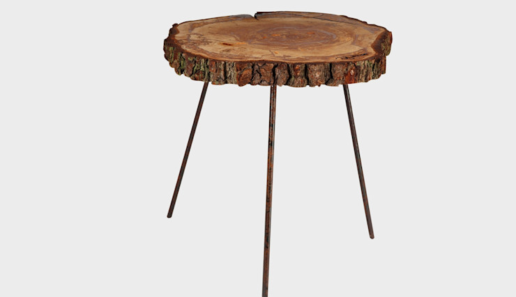 WOODEN DISC COFFEE TABLE MARSH Altavola Design Sp. z o.o. Living roomSide tables & trays Wood