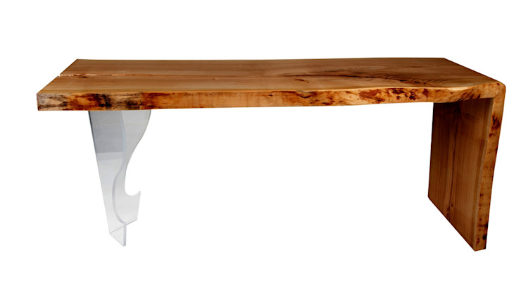 SOLID WOOD COFFEE TABLE CHERRY VII Altavola Design Sp. z o.o. Living roomSide tables & trays