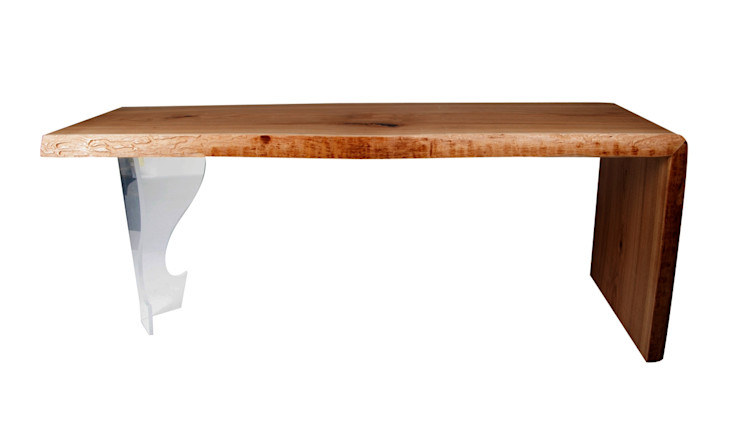 SOLID WOOD COFFEE TABLE CHERRY VIII Altavola Design Sp. z o.o. Living roomSide tables & trays Wood