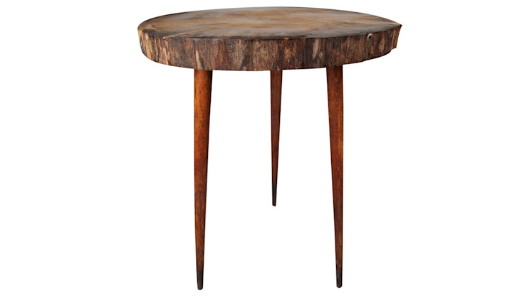 WOODEN DISC COFFEE TABLE TREE TRUNK Altavola Design Sp. z o.o. Living roomSide tables & trays Wood