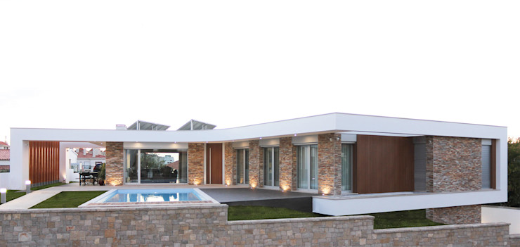 SOUSA LOPES, arquitectos Modern Houses