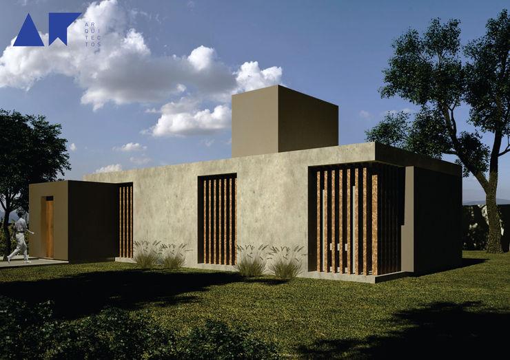 casa ZR AR arquitectos Casas modernas