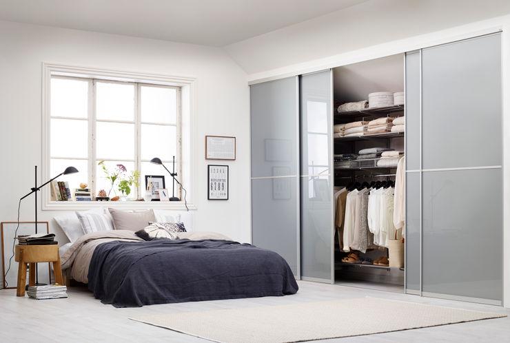 Elfa Deutschland GmbH Modern Bedroom Glass White