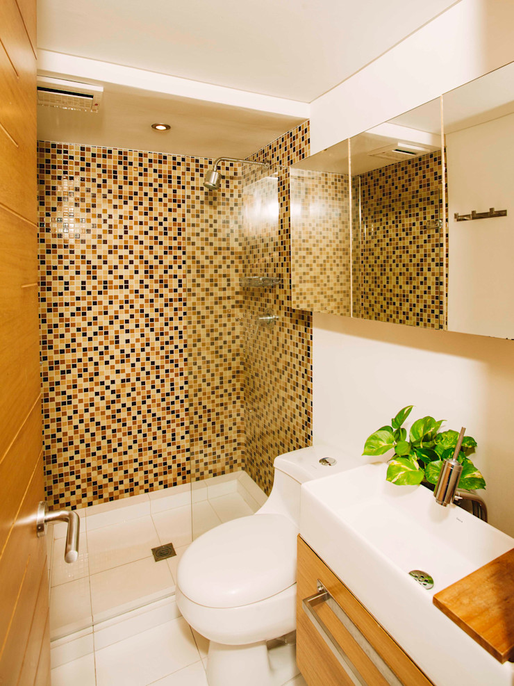 CASA CALDA Industrial style bathroom