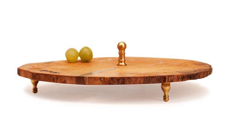 DREWNIANA TACA NA CIASTO SLICE Altavola Design Sp. z o.o. Dining roomAccessories & decoration Wood