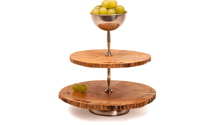 WOODEN DISC PASTRY TRAY LEVELS Altavola Design Sp. z o.o. Dining roomAccessories & decoration Wood