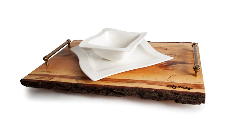 B&B WOODEN TRAY 1 Altavola Design Sp. z o.o. Dining roomAccessories & decoration Wood