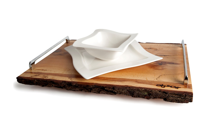 B&B WOODEN TRAY 2 Altavola Design Sp. z o.o. Dining roomAccessories & decoration Wood