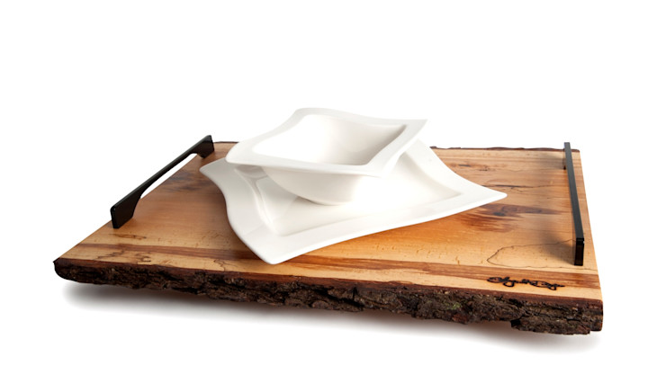 B&B WOODEN TRAY 3 Altavola Design Sp. z o.o. Dining roomAccessories & decoration Wood