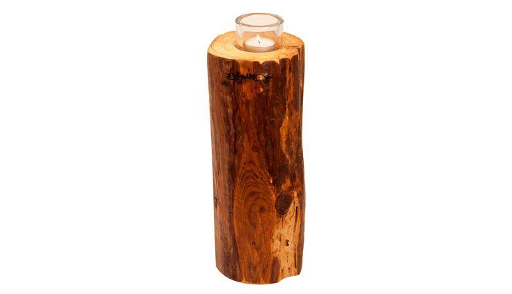 TEALIGHT HOLDER LUMBERJACK 5 Altavola Design Sp. z o.o. Living roomAccessories & decoration Wood