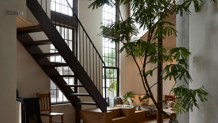Mimasis Design/ミメイシス デザイン 现代客厅設計點子、靈感 & 圖片 木頭 Wood effect