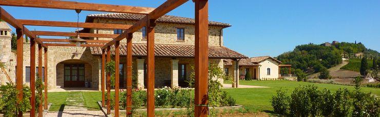 Studio Zaroli Casas de estilo rural