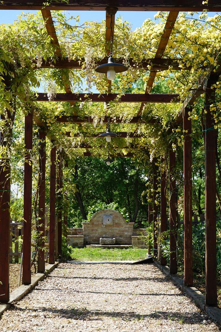 Studio Zaroli Jardines de estilo rural