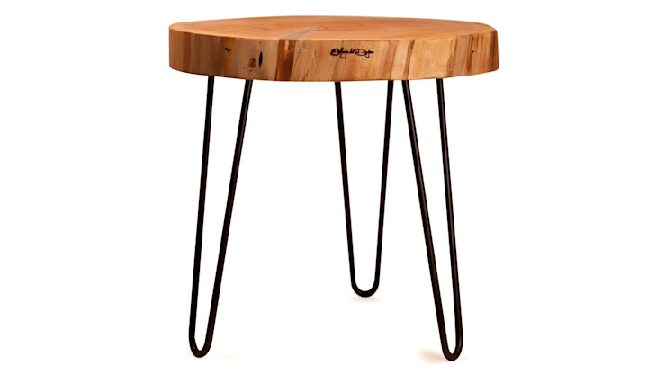 WOODEN COFFEE TABLE THICK SLICE Altavola Design Sp. z o.o. Living roomSide tables & trays Wood