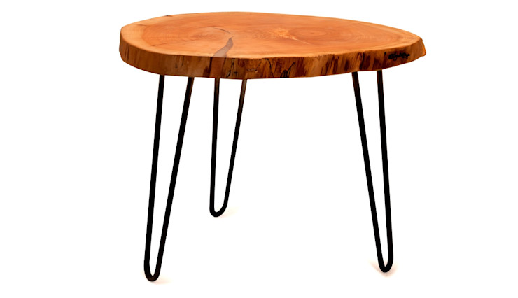WOOD COFFEE TABLE THIN SLICE Altavola Design Sp. z o.o. Living roomSide tables & trays Wood