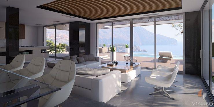 Villa Hemera Miralbo Excellence Modern living room